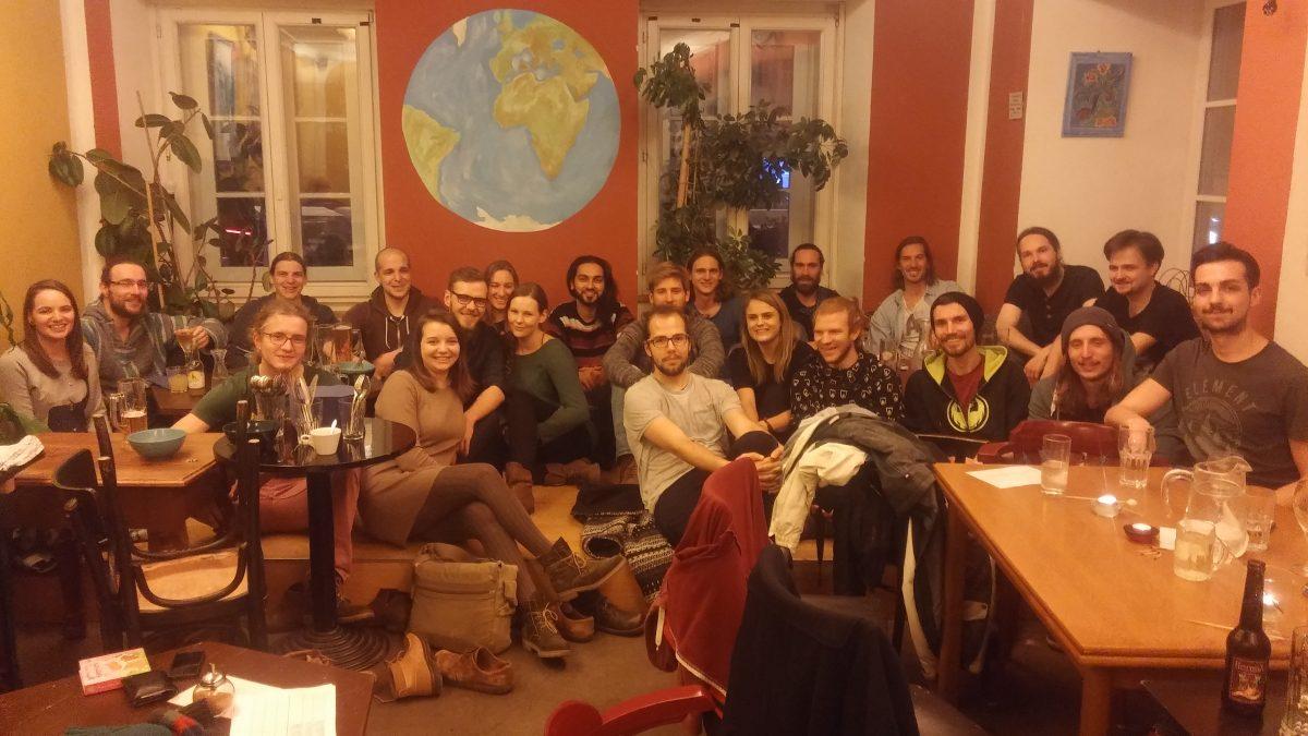 IG Weihnachtsfeier im Cafe Erde 2017